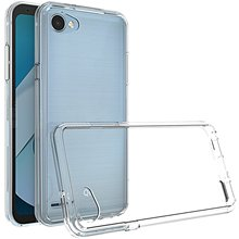 for LG Q6 Case, Ultra thin Crystal Clear Transparent Soft TPU Cover Silicon Case Q6/Q6+ 5.5 inch Mobile Phone Shell Bag