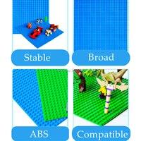 совместимость с Лего пластины 32*32 в горошек опорная плита кирпич таблички основы 25.5*25.5 см modles здания блоки игрушечные лошадки для детей легое