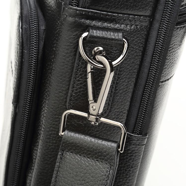 MEIGARDASS Genuine Leather Business Briefcase Men Travel Shoulder Messenger Bags Male Document Handbags Laptop Computer Bag