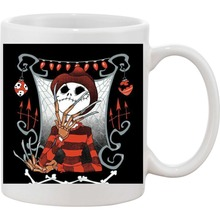 Nightmare before christmas Jack Skellington Kaffee tassen Tassen abziehbild wein mugen whisky bier keramik becher