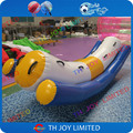 Stock 3.2m water seasaw game for floating park