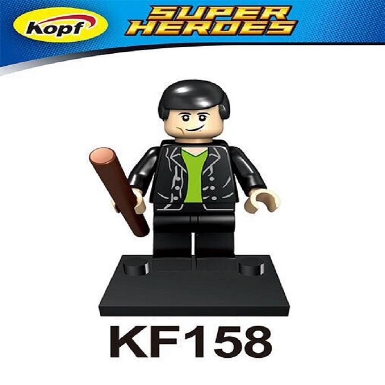 Single Sale Super Heroes Christopher Eccleston Dr.Who Figures Assemble Building Blocks education best Children Gift Toys KF158