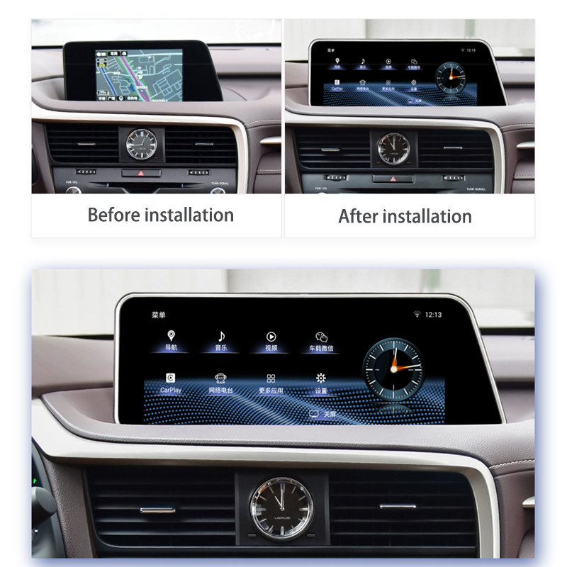 LiisLee Car Multimedia GPS Audio Radio Stereo For Lexus RX RX300 RX350 RX400h RX450h 2016~2018 Original Style Navigation NAVI (13)