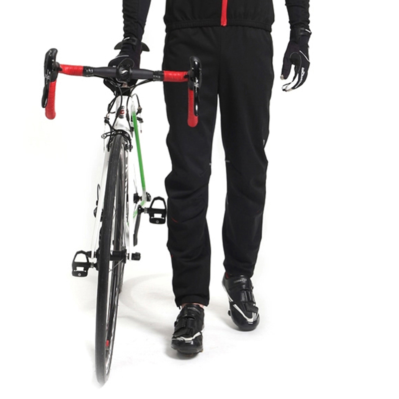 ba7e4ff707182 NENK Cycling Bike Bicycle Pants Man Thermal Fleece Bike Pants Equipment  Windproof Pants Sports Outdoor Winter Autumn Trousers-in Cycling Pants from  Sports ...