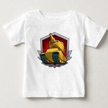 Baby Tops Children Summer Boys T Shirts Tanks 2018 Fashion Printed Clothes tank tshirt Short sleeve