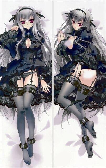 Free Shipping Anime Dakimakura hugging pillow case  Rozen Maiden  20130509