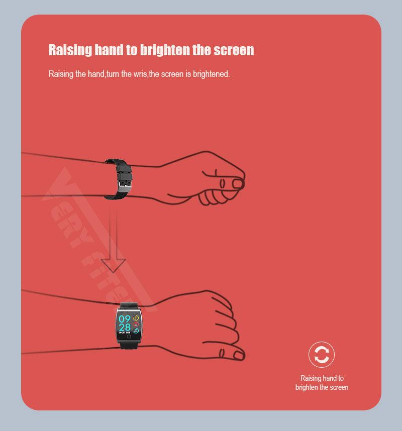 VERYFiTEK QS05 Smart Bracelet Watch Blood Pressure Oxygen Smart Band Heart Rate Monitor Wristband Pedometer Fitness Bracelets  (16)