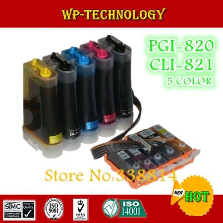 CISS for PGI820 CLI821  pgi 820 cli 821 ciss suit for Canon  IP3680 IP4680  MP545  MP628 MX638  5 color Full ink  ARC chip|ciss for canon|ink cisscanon ciss - title=