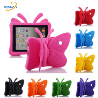 Kids EVA 3D Butterfly Tablet Case For 9 7 Inch For Apple IPad 2 3 4