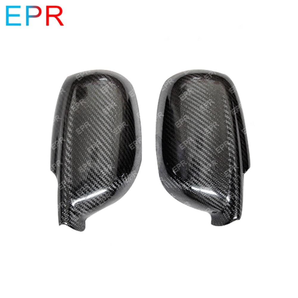 Pour Nissan horizon R34 GTR couverture de miroir en Fiber de carbone pièce de réglage automatique pour GTR R34 couverture de miroir en carbone