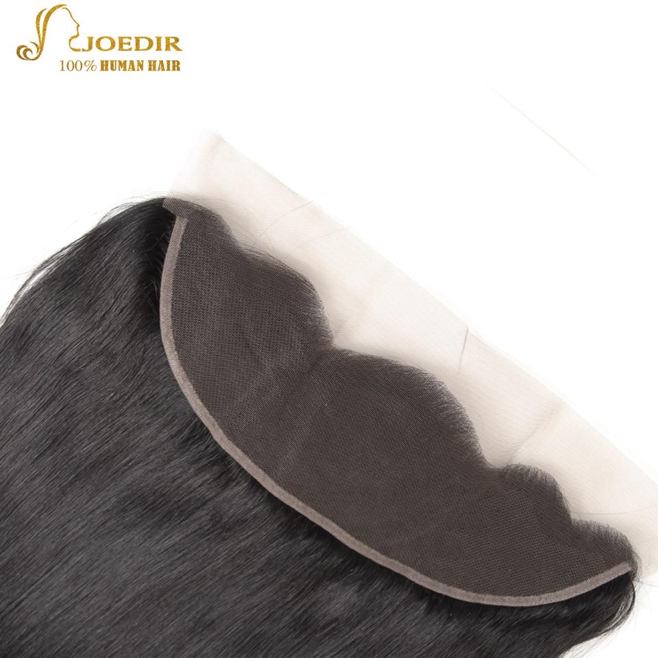 Joedir Straight Hair Bundles Med Stängning I 3/4 Bundlar Non Remy - Skönhet och hälsa - Foto 5