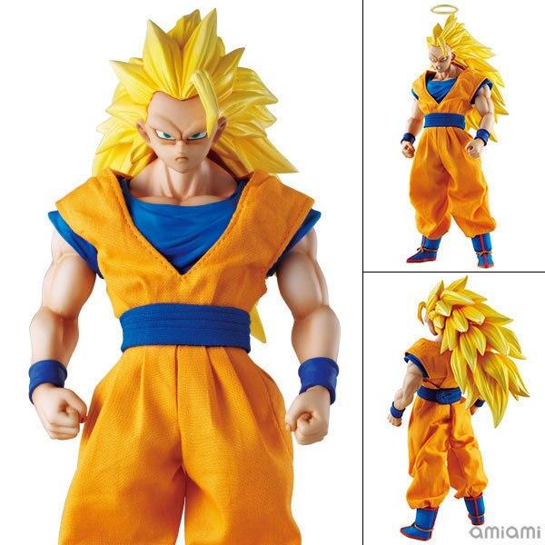 DOD Dimension de Dragon Ball Z Super Saiyan 3 Fils Goku PVC Action Figure Collection Modèle Jouet 21 cm KT3337