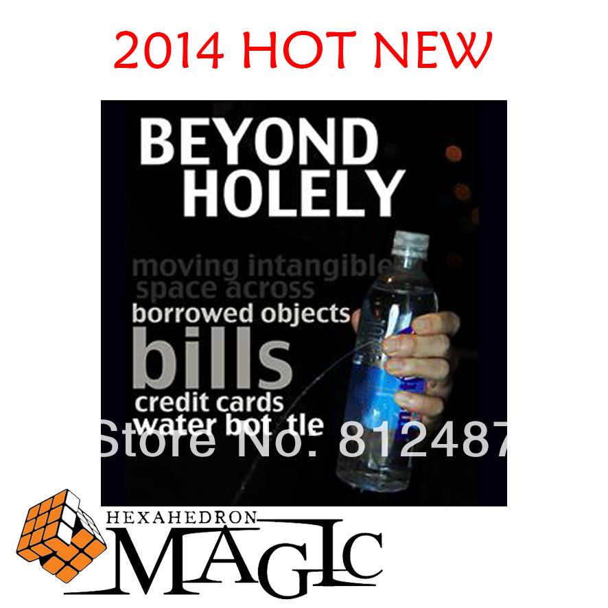 2014 new Beyond Holely by Will Tsai and SansMinds / close-up CARD  magic trick produsts / bicycle card case / free shipping close-up