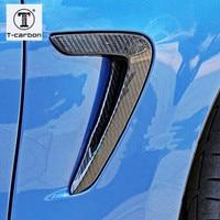 Для BMW 4 серии F32 F33 F36 Углеродного Волокна Fender свет отделка 2014 2015 2016 Замена Стиль стайлинга автомобилей