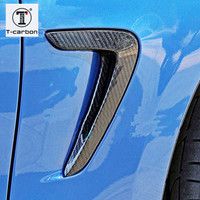 For BMW 4 Series F32 F33 F36 Carbon Fiber Fender Light Trim 2014 2015 2016 Replacement Style Car Styling