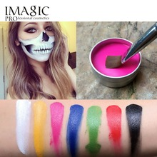 IMAGIC Face Painting Flash Tattoo Face Body Paint Oil Painting Art Halloween Party Fancy Dress Beauty Makeup Face Paint Tools cheap 1PCS IMAGIC PROFESSIONAL COSMETICS