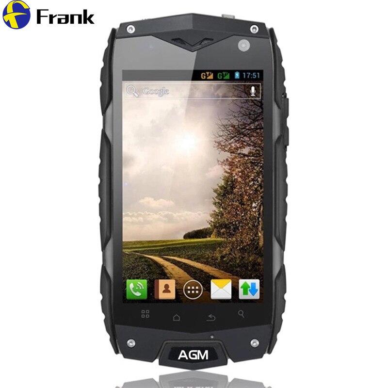 Цена за Оригинальный 4 г lte agm a7/8 13.0mpquad core 2 ГБ ram 16 г водонепроницаемый android 6.0 8mp мобильного телефон zug3 противоударный телефон