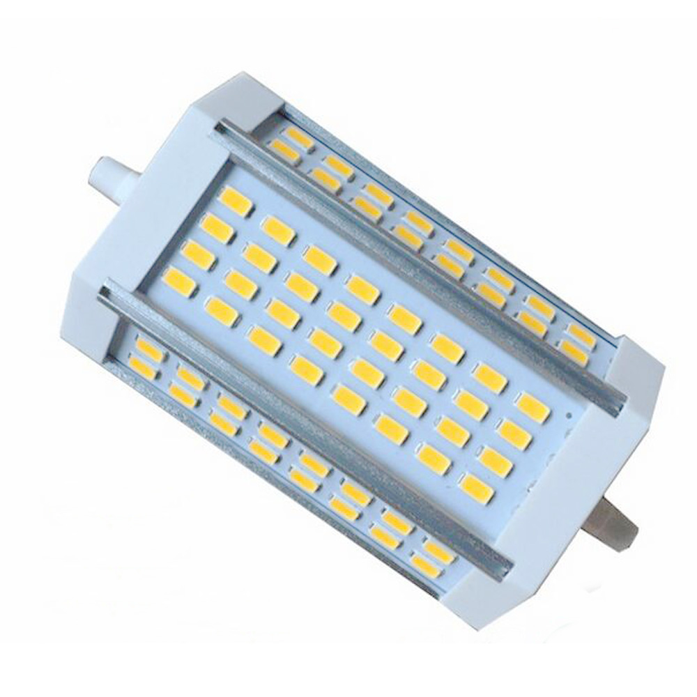 R7s Led Dimmbar Us 14 4 40 Off Dimmbare R7s 30 W 118mm Led Lampe R7s Licht J118 R7s Lampe Ohne Lüfter Ersetzen Halogen Lampe Ac110 240v Warme Weiß Kalt Weiß In