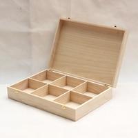 High Quality Home Solid Wood Organizer Storage Box