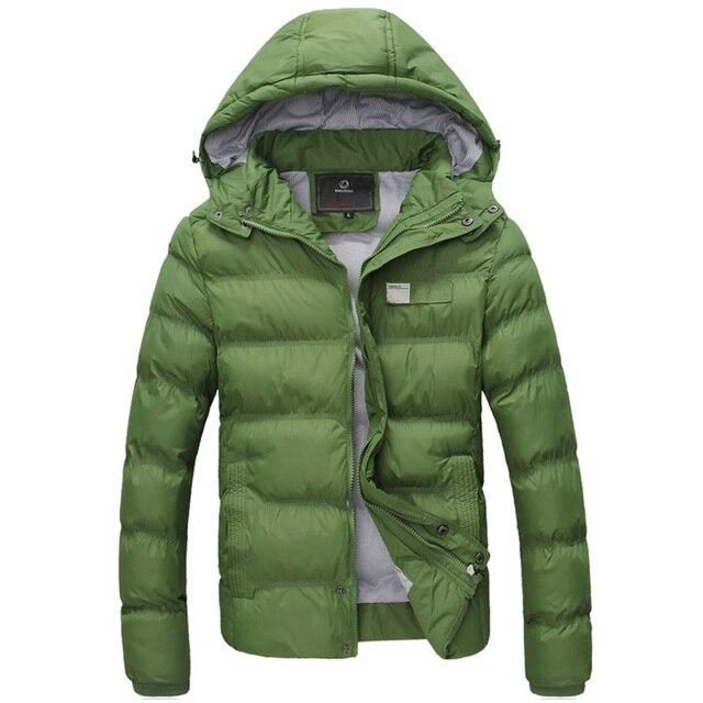 2016 winter men's jacket winter warm male casual fashion slim fit outwear overcoat M-3XL JPYG136