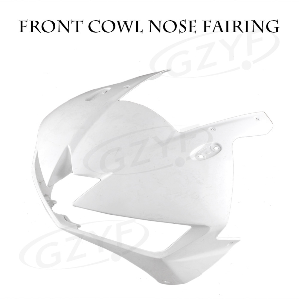 Unpainted Upper Front Cover Cowl Nose Fairing for HONDA CBR500R 13 2013,  Injection Mold ABS Plastic vehicle plastic accessory injection mold china makers