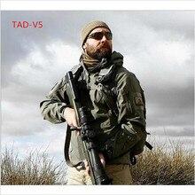 Alta calidad lurker Tiburón Soft Shell TAD V 5.0 Táctico Militar Chaqueta Impermeable A Prueba de Viento Ejército Ropa chaqueta de bombardero