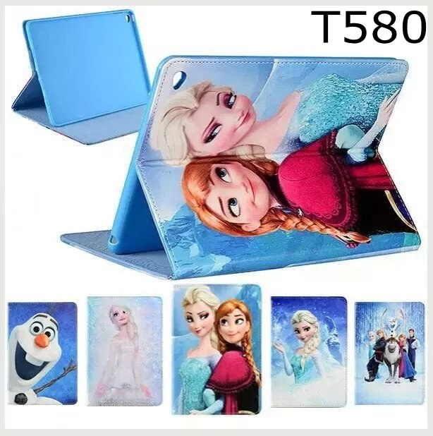 Fashion Movie Cartoon Girl Star Wars pu leather Stand holder case cover for Samsung Galaxy Tab A 10.1 T585 T580 SM-T580 T580N