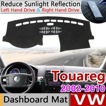 цена на for Volkswagen VW Touareg 2002~2010 7L Anti-Slip Mat Dashboard Cover Pad Sunshade Dashmat Carpet Accessories 2004 2005 2006 2008