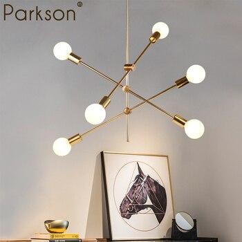 Moderno colgante luces nórdica Living comedor cocina hanglamp E27 ...