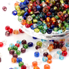 4500beads Pound 4mm Czech Glass Seed Beads 6 0 Spacer Beads Round Mixed For Jewelry Making