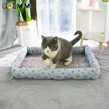 Summer Cat Bed Breathable House For Warm Cotton Dog Pet Products Mini Puppy Soft Comfortable Mat Cats