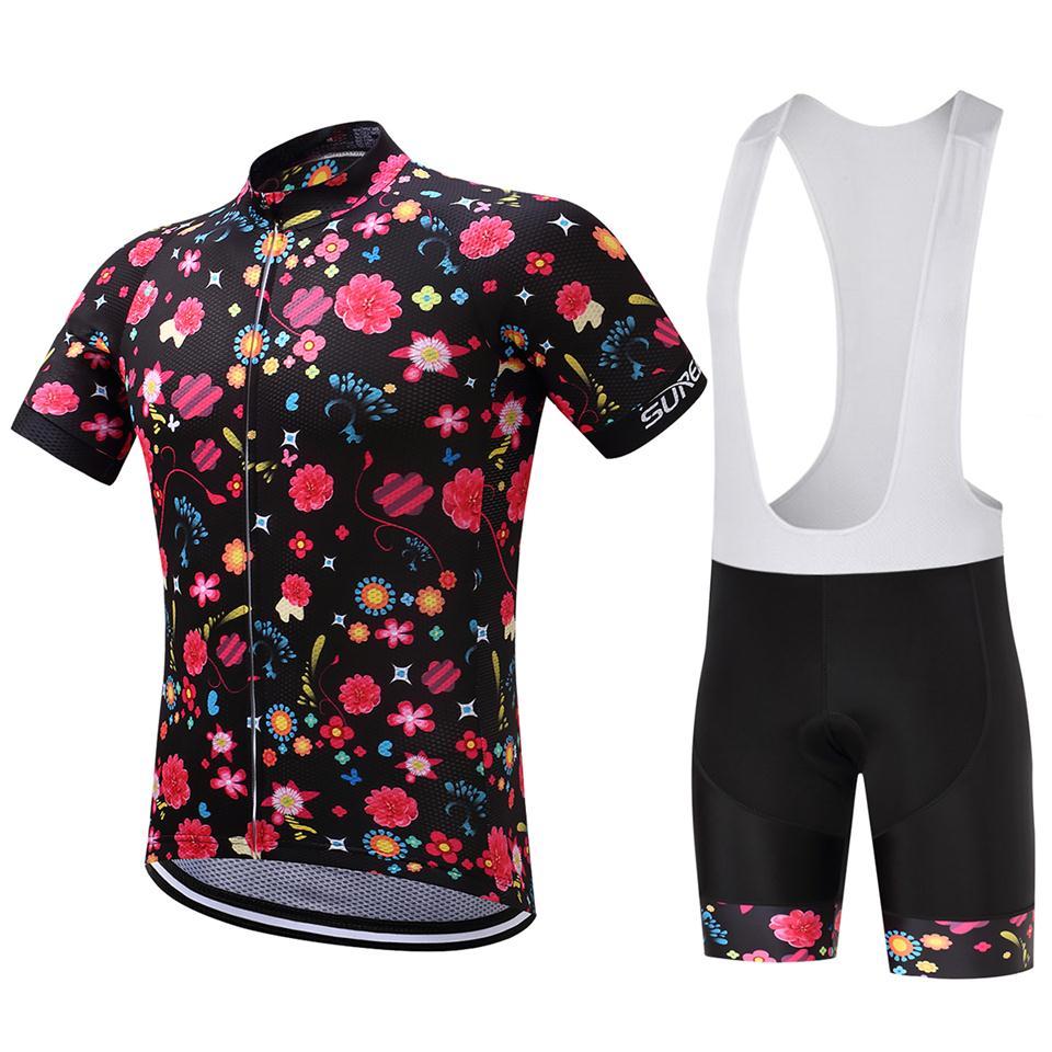 2017 9D Pad Bike ruházat Új Pro csapat Kerékpáros Jersey szett - Kerékpározás