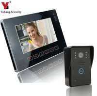 Yobang Security Touch Keypad 9inch TFT LCD HD Video Door Phone Intercom System Touch Key Access Control Doorbell Video Intercom