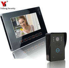 Yobang Security-Touch Keypad 9inch TFT LCD HD Video Door Phone Intercom System Touch Key Access Control Doorbell Video Intercom