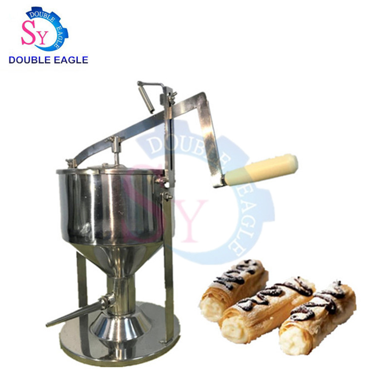 High Quality Stainless Steel Manual Bread Jam Filling Machine/commercial Hand Press Puffs Filling Filler Injection Machine