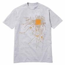 Super geek CPU Core / Circuit men T-shirt