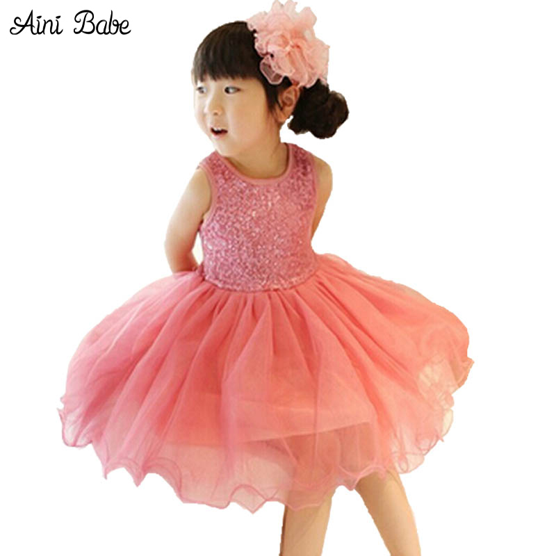 High Quality Baby Girl Dress Lace Vest Dress for Girl Infant Princess Birthday Party Wedding Dresses For Baby Girl Chirstening high quality lace girl dresses children dress party summer princess baby girl wedding dress birthday big bow pink for 100 160