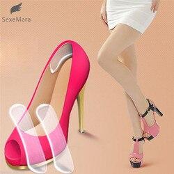 SexeMara Protetor de Silicone Gel Heel Cushion Pé Cuidados Com Os Pés Inserção Sapato Almofada Palmilha Útil