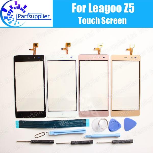 imágenes para Leagoo Z5 Pantalla Táctil Digitalizador 100% de Garantía Original Del Panel Táctil de Cristal Digitalizador de Pantalla Para Z5 + herramientas + Adhesivo
