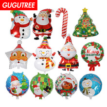 Decorate Home 18inch star Santa Claus snowman foil balloons wedding event christmas halloween festival birthday party HY-68