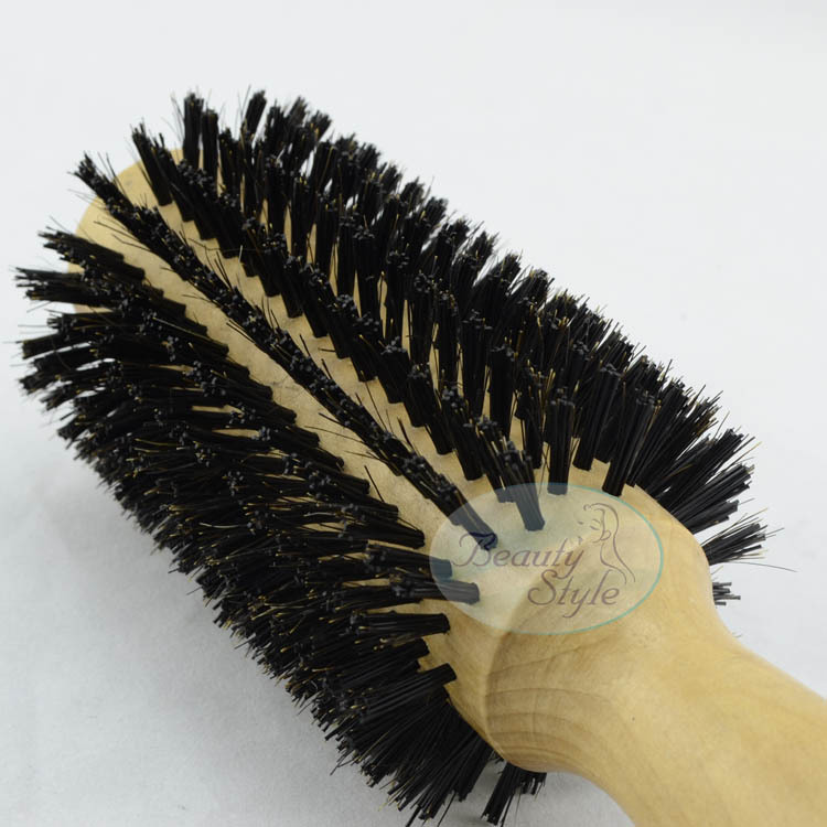 Hair Styling Brushes Free Shipping Professional Heat Resistant Wooden Hair Brushhair .