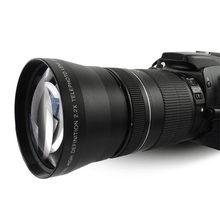 Lightdow 67 мм 2.2x телеобъектив для Canon EOS 550D 600D 650D 700D 60D 70D 18-135 мм объектив Nikon 18-105 мм