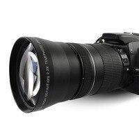 Lightdow 67mm 2.2x Telephoto Tele Lens for Canon EOS 550D 600D 650D 700D 60D 70D 18 135mm Lens Nikon 18 105mm Lens