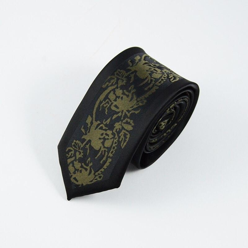 GUSLESON Neue Mens Ties Benutzerdefinierte Marke Mann Dot Gestreiften - Bekleidungszubehör - Foto 6