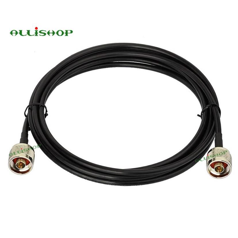 N Male to N Male Connector Adapter RF Cable Extension RG58 Cell Phone Mobile Signal Repeater Booster Amplifier Antenna 1-20MN Male to N Male Connector Adapter RF Cable Extension RG58 Cell Phone Mobile Signal Repeater Booster Amplifier Antenna 1-20M