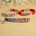 Letter Watch Strap Bracelet Football Fans