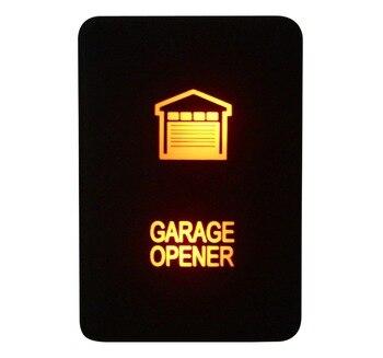 Желтая открывалка для гаража 12 В 3 А, кнопка включения-выключения для Toyota 2015 Hilux Prado 150 200 Rav4
