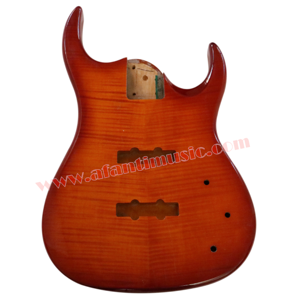 Afanti Music DIY Bass DIY Electric Bass guitar Body (ADK-166) afanti music diy guitar diy electric guitar body adk 022