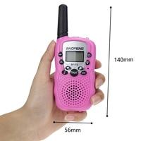 woki טוקי baofeng 2 יח Baofeng BF-T3 מכשיר הקשר מיני נייד ילדים צעצוע שני הדרך רדיו UHF 462-467MHz 8 ערוץ כף יד Woki טוקי (5)