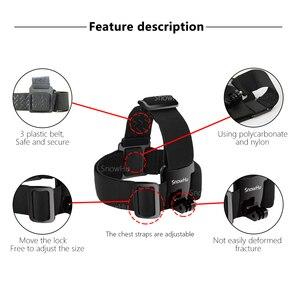 Image 3 - SnowHu voor Gopro 8 7 6 5 4 Accessoires set Hoofd Riem Mount Verstelbare Voor Gopro Hero 8 7 6 5 4 3 voor SJCAM Xiaomi Yi GS65